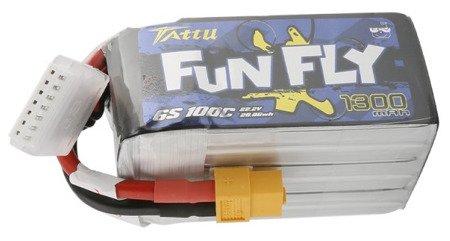 Tattu Funfly 1300mAh 22.2V 100C 6S1P