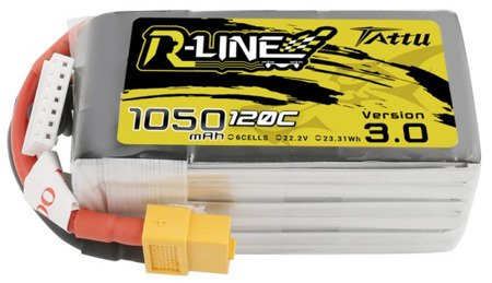 Tattu R-Line Version 3.0 1050mAh 120C 22.2V 6S1P