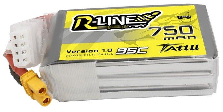 Tattu R-Line 750mAh 11.1V 95C 3S1P