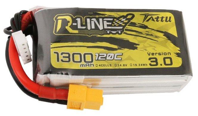 Tattu R-Line Version 3.0 1300mAh 14,8V 120C